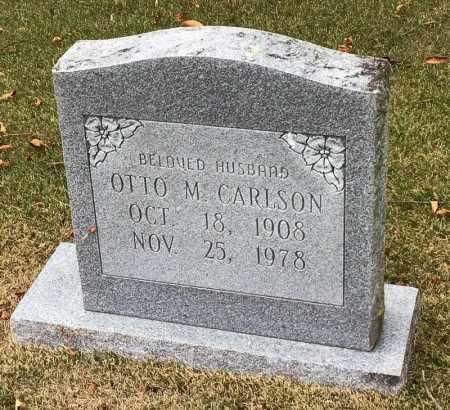 CARLSON, OTTO M. - Marion County, Arkansas | OTTO M. CARLSON - Arkansas Gravestone Photos