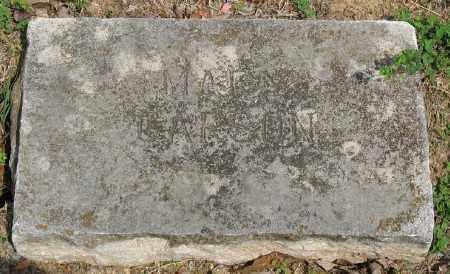 CARSON, MARY - Marion County, Arkansas | MARY CARSON - Arkansas Gravestone Photos