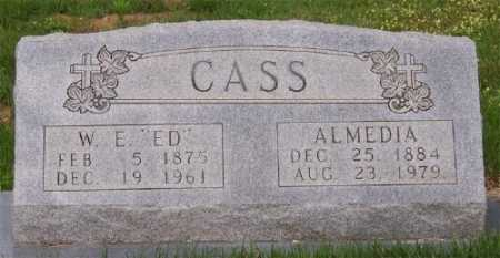 "CASS, WILLIAM EDGAR ""ED"" - Marion County, Arkansas | WILLIAM EDGAR ""ED"" CASS - Arkansas Gravestone Photos"