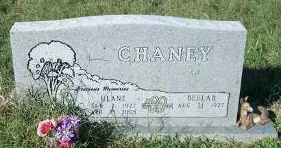 CHANEY, ULANE - Marion County, Arkansas | ULANE CHANEY - Arkansas Gravestone Photos