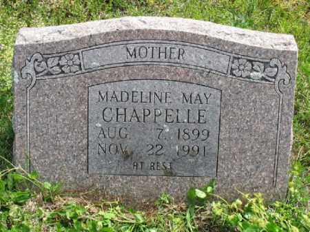 THOMAS CHAPPELLE, MADELINE MAY - Marion County, Arkansas | MADELINE MAY THOMAS CHAPPELLE - Arkansas Gravestone Photos