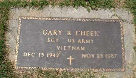 CHEEK  (VETERAN VIET), GARY R - Marion County, Arkansas   GARY R CHEEK  (VETERAN VIET) - Arkansas Gravestone Photos