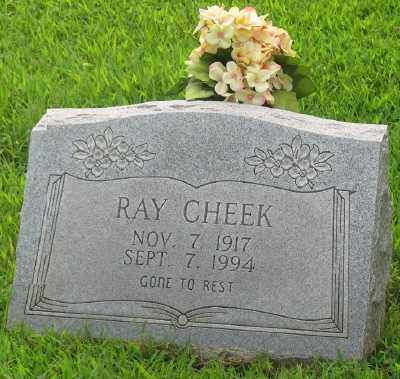 CHEEK, RAY - Marion County, Arkansas | RAY CHEEK - Arkansas Gravestone Photos