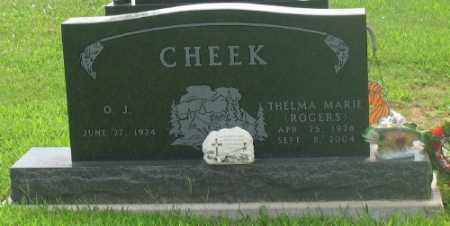 ROGERS CHEEK, THELMA - Marion County, Arkansas | THELMA ROGERS CHEEK - Arkansas Gravestone Photos
