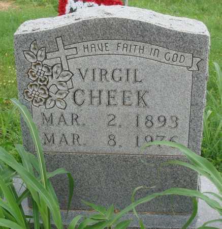 CHEEK, VIRGIL - Marion County, Arkansas | VIRGIL CHEEK - Arkansas Gravestone Photos