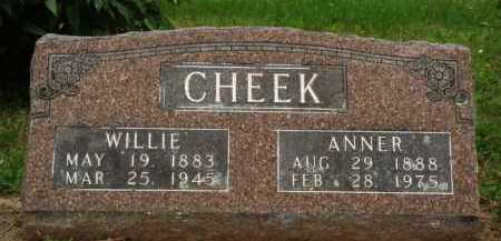 CHEEK, ANNER - Marion County, Arkansas | ANNER CHEEK - Arkansas Gravestone Photos