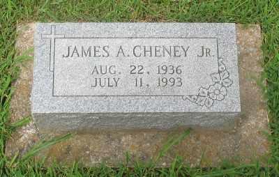 CHENEY, JR., JAMES A. - Marion County, Arkansas | JAMES A. CHENEY, JR. - Arkansas Gravestone Photos