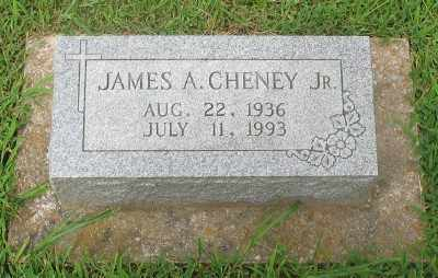 CHENEY, JR., JAMES A. - Marion County, Arkansas | JAMES A. CHENEY, JR. - Arkansas Gravestone Photos