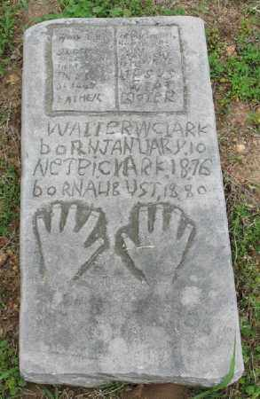 CLARK, WALTER W. (SECOND STONE) - Marion County, Arkansas | WALTER W. (SECOND STONE) CLARK - Arkansas Gravestone Photos