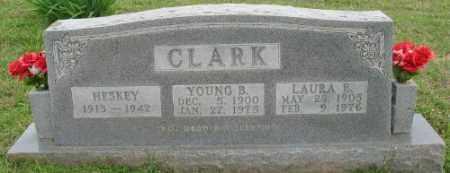 CLARK, YOUNG B. - Marion County, Arkansas | YOUNG B. CLARK - Arkansas Gravestone Photos
