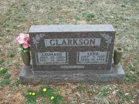 CLARKSON, LENA - Marion County, Arkansas | LENA CLARKSON - Arkansas Gravestone Photos