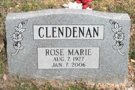 CLENDENAN, ROSE MARIE - Marion County, Arkansas | ROSE MARIE CLENDENAN - Arkansas Gravestone Photos