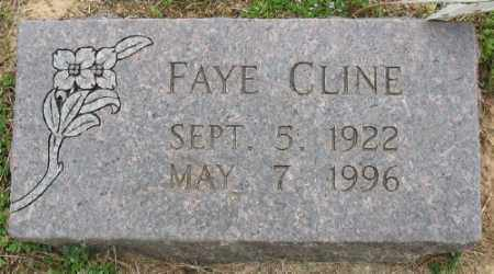 CLINE, FAYE - Marion County, Arkansas | FAYE CLINE - Arkansas Gravestone Photos
