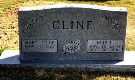 CLINE, ULIS L. - Marion County, Arkansas | ULIS L. CLINE - Arkansas Gravestone Photos