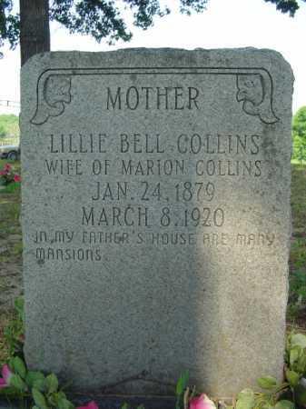 COLLINS, LILLIE - Marion County, Arkansas | LILLIE COLLINS - Arkansas Gravestone Photos