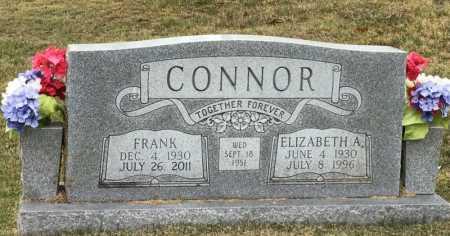 CONNOR, ELIZABETH A - Marion County, Arkansas   ELIZABETH A CONNOR - Arkansas Gravestone Photos