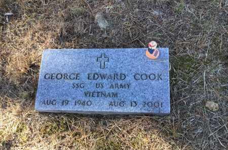 COOK  (VETERAN VIET), GEORGE EDWARD - Marion County, Arkansas | GEORGE EDWARD COOK  (VETERAN VIET) - Arkansas Gravestone Photos