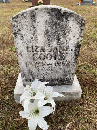 BAGWELL COOTS, LIZA JANE - Marion County, Arkansas | LIZA JANE BAGWELL COOTS - Arkansas Gravestone Photos