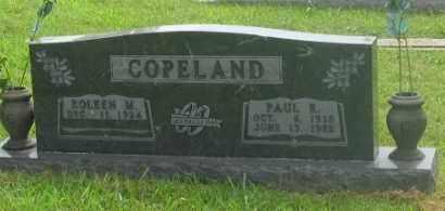 COPELAND, PAUL R. - Marion County, Arkansas   PAUL R. COPELAND - Arkansas Gravestone Photos