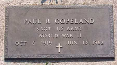COPELAND (VETERAN WWII), PAUL R. - Marion County, Arkansas | PAUL R. COPELAND (VETERAN WWII) - Arkansas Gravestone Photos
