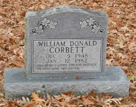 CORBETT, WILLIAM DONALD - Marion County, Arkansas | WILLIAM DONALD CORBETT - Arkansas Gravestone Photos