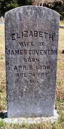 HILL COVENTON, ELIZABETH - Marion County, Arkansas | ELIZABETH HILL COVENTON - Arkansas Gravestone Photos