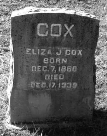 COX, ELIZA J. - Marion County, Arkansas | ELIZA J. COX - Arkansas Gravestone Photos