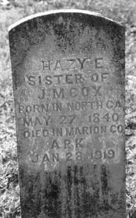 COX, HAZY E. - Marion County, Arkansas   HAZY E. COX - Arkansas Gravestone Photos
