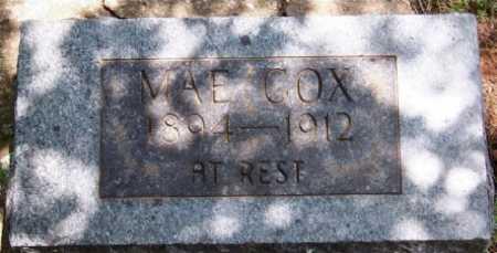COX, MAE - Marion County, Arkansas | MAE COX - Arkansas Gravestone Photos
