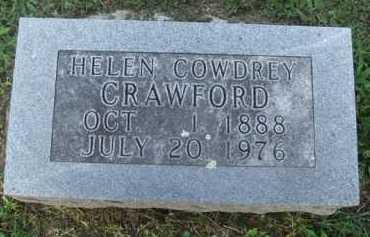 COWDREY CRAWFORD, HELEN - Marion County, Arkansas   HELEN COWDREY CRAWFORD - Arkansas Gravestone Photos