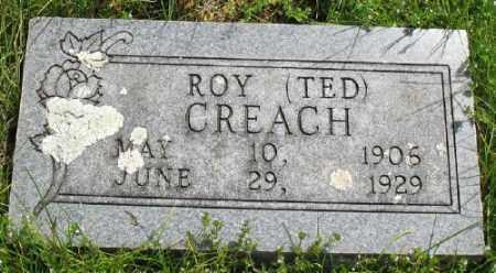 CREACH, ROY - Marion County, Arkansas   ROY CREACH - Arkansas Gravestone Photos