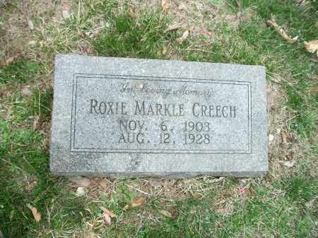 CREECH, ROXIE - Marion County, Arkansas | ROXIE CREECH - Arkansas Gravestone Photos