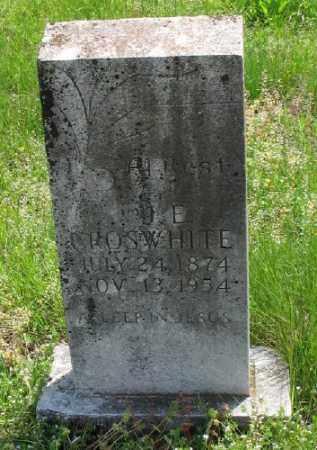 CROSWHITE, J. E. - Marion County, Arkansas | J. E. CROSWHITE - Arkansas Gravestone Photos