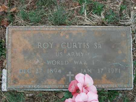 CURTIS, SR  (VETERAN WWI), ROY - Marion County, Arkansas   ROY CURTIS, SR  (VETERAN WWI) - Arkansas Gravestone Photos