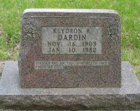 DARDIN, KEYDRON R. - Marion County, Arkansas | KEYDRON R. DARDIN - Arkansas Gravestone Photos
