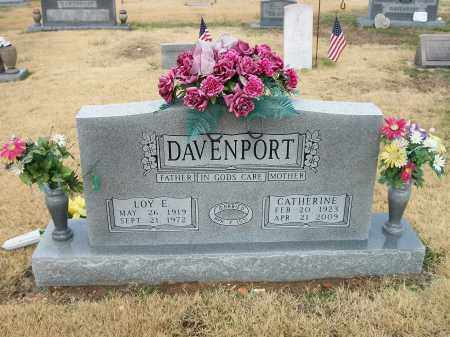 DAVENPORT, LOY EDWARD - Marion County, Arkansas | LOY EDWARD DAVENPORT - Arkansas Gravestone Photos