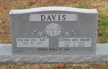 DAVIS, JUANITA ANN - Marion County, Arkansas   JUANITA ANN DAVIS - Arkansas Gravestone Photos