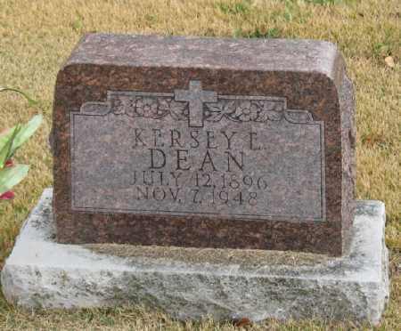 DEAN, KERSEY ELDRIDGE - Marion County, Arkansas | KERSEY ELDRIDGE DEAN - Arkansas Gravestone Photos