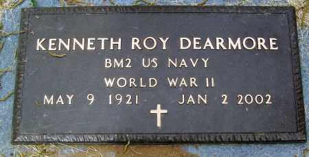 DEARMORE (VETERAN WWII), KENNETH ROY - Marion County, Arkansas   KENNETH ROY DEARMORE (VETERAN WWII) - Arkansas Gravestone Photos