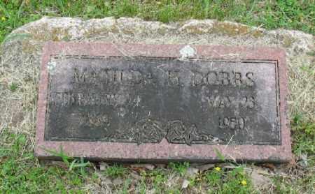 DOBBS, MATILDA H. - Marion County, Arkansas | MATILDA H. DOBBS - Arkansas Gravestone Photos
