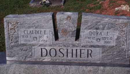 DOSHIER, DORA J. - Marion County, Arkansas   DORA J. DOSHIER - Arkansas Gravestone Photos