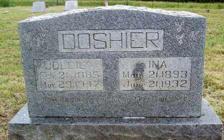 DOSHIER, JOLLIE - Marion County, Arkansas | JOLLIE DOSHIER - Arkansas Gravestone Photos
