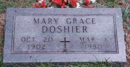 DOSHIER, MARY GRACE - Marion County, Arkansas | MARY GRACE DOSHIER - Arkansas Gravestone Photos