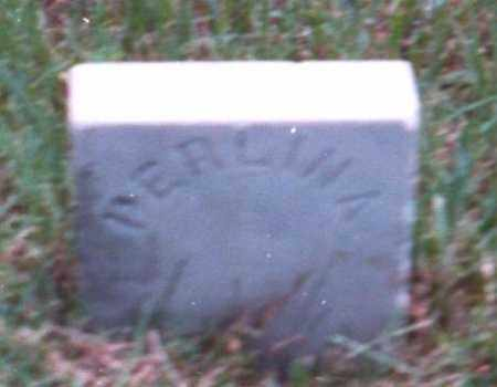 DOSHIER, PERLINA (FOOTSTONE) - Marion County, Arkansas | PERLINA (FOOTSTONE) DOSHIER - Arkansas Gravestone Photos