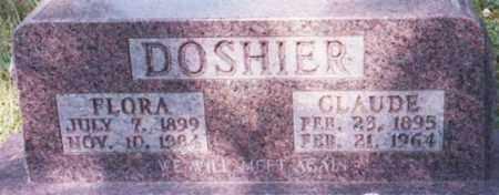 DOSHIER, FLORA - Marion County, Arkansas | FLORA DOSHIER - Arkansas Gravestone Photos