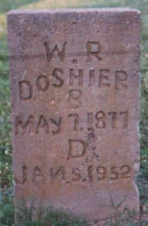 DOSHIER, W. R. - Marion County, Arkansas | W. R. DOSHIER - Arkansas Gravestone Photos