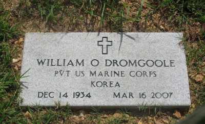 DROMGOOLE (VETERAN KOR), WILLIAM O. - Marion County, Arkansas | WILLIAM O. DROMGOOLE (VETERAN KOR) - Arkansas Gravestone Photos