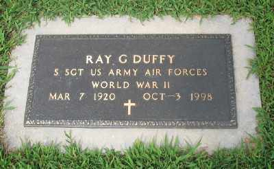 DUFFY (VETERAN WWII), RAY G. - Marion County, Arkansas | RAY G. DUFFY (VETERAN WWII) - Arkansas Gravestone Photos