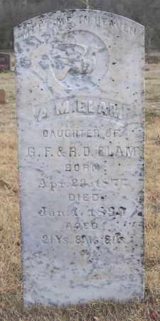 ELAM, ALICE MAWATTE - Marion County, Arkansas | ALICE MAWATTE ELAM - Arkansas Gravestone Photos