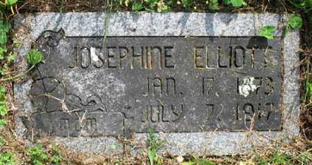 ELLIOTT, JOSEPHINE - Marion County, Arkansas | JOSEPHINE ELLIOTT - Arkansas Gravestone Photos